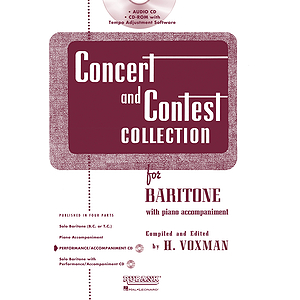 Concert and Contest Collection for Baritone - Accompaniment CD