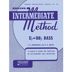 Rubank Intermediate Method - E-flat or BB-flat Bass Tuba