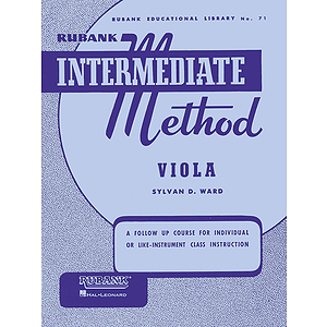 Rubank Intermediate Method - Viola