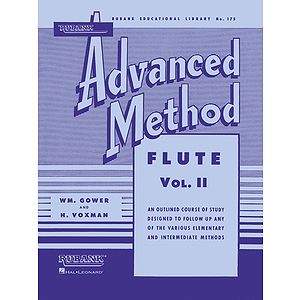 Rubank Advanced Method - Flute Vol. 2