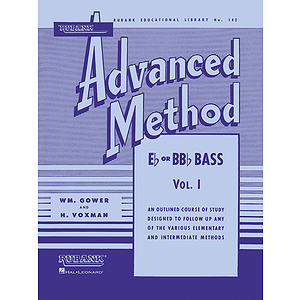Rubank Advanced Method - E-flat or BB-flat Bass Tuba, Vol. 1