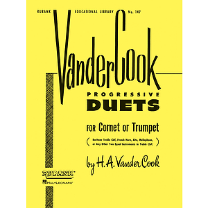 Vandercook Progressive Duets for Cornet or Trumpet