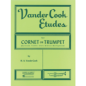 Vandercook Etudes For Cornet Or Trumpet
