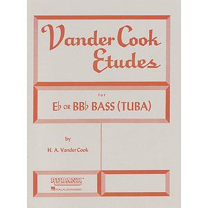 Vandercook Etudes For E Flat or BB Flat Bass