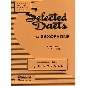Selected Duets for Saxophone