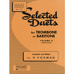 Selected Duets for Trombone or Baritone