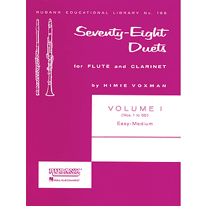 78 Duets for Flute and Clarinet