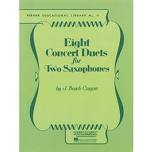 Eight Concert Duets for Two Saxophones