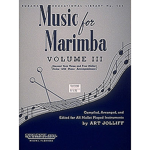 Music for Marimba - Volume III