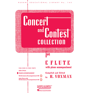 Concert and Contest Collection - C Flute