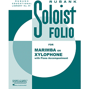 Soloist Folio - Xylophone or Marimba and Piano