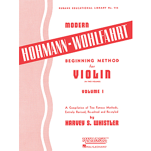 Modern Hohmann-Wohlfahrt Beginning Method for Violin