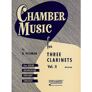Three Clarinets - Volume 2 (Medium)