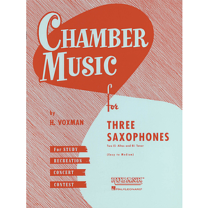 Chamber Music for Three Saxophones