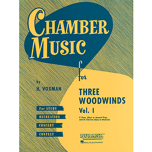 Chamber Music for Three Woodwinds, Vol. 1