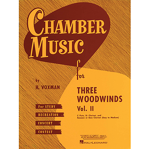 Chamber Music for Three Woodwinds, Vol. 2