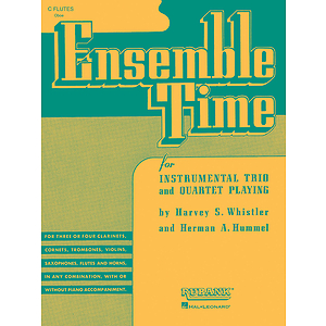 Ensemble Time - B Flat Clarinets (Bass Clarinet)