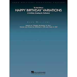 Happy Birthday Variations