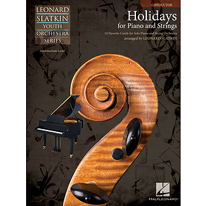 Holidays for Piano and Strings - Volume 1