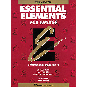 Essential Elements for Strings Book 1 - Viola