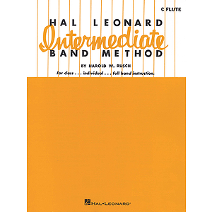 Hal Leonard Intermediate Band Method - C Flute
