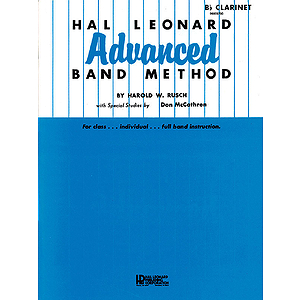 Hal Leonard Advanced Band Method B Flat Clarinet