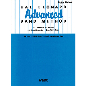 Hal Leonard Advanced Band Method Eb Alto Clarinet