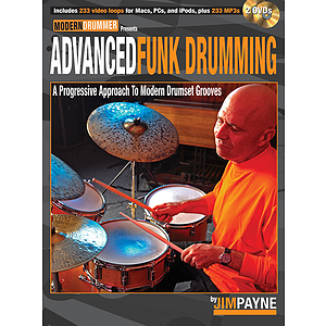 Advanced Funk Drumming (DVD)