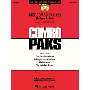 Jazz Combo Pak #31 (Rodgers & Hart)
