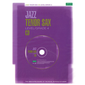 Jazz Tenor Sax CD