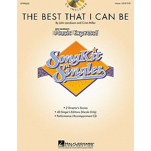 The Best That I Can Be (SongKit Single)