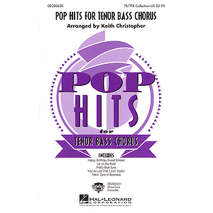 Pop Hits for Tenor Bass Chorus (Collection)