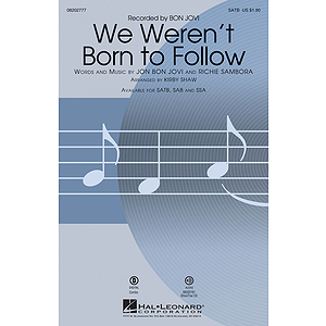 We Weren't Born to Follow