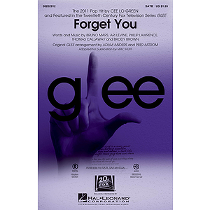 Forget You (featured on Glee)