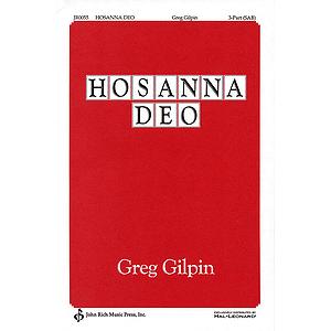 Hosanna Deo!
