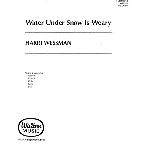 Water Under Snow is Weary