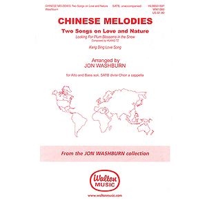 Chinese Melodies: Two Songs on Love and Nature