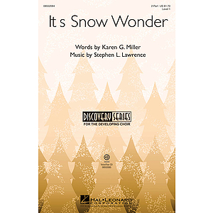 It's Snow Wonder