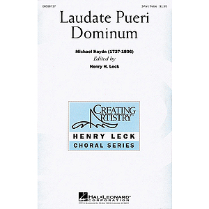Laudate Pueri Dominum (Lord, Now We Praise Your Name)