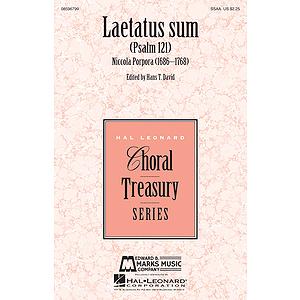Laetatus Sum
