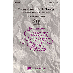 Three Czech Folk Songs (Collection)