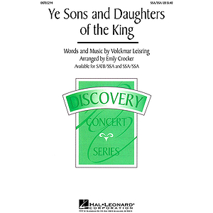 Ye Sons and Daughters of the King