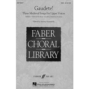 Gaudete! - Three Medieval Songs for Upper Voices (Collection)