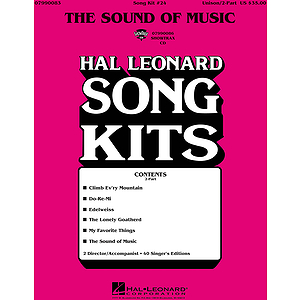 The Sound of Music (Song Kit #24)