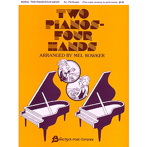 Two Pianos - Four Hands