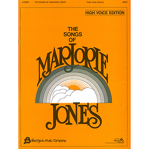 The Songs of Marjorie Jones