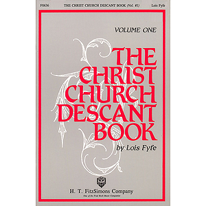 The Christ Church Descant Book - Vol. 1 (Collection)