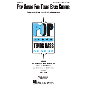 Pop Songs for Tenor Bass Chorus (Collection)