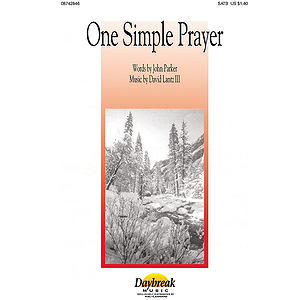 One Simple Prayer