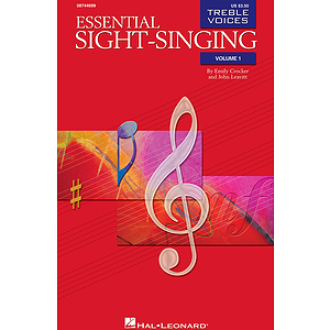 Essential Sight-Singing Vol. 1 Treble Voices